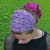 Plum Purple Bandana Headband