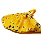 Yellow Bandana Headscarf