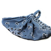 Blue Bandana Head Wrap