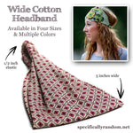 Light Gray Bandana Wide Headband