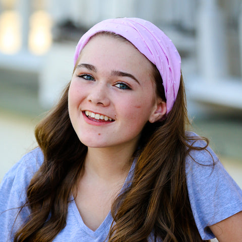 Soft Pink Extra Wide Headband
