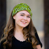 Olive Green Bandana Extra Wide Headband