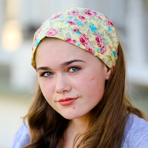 Yellow Bohemian Headband