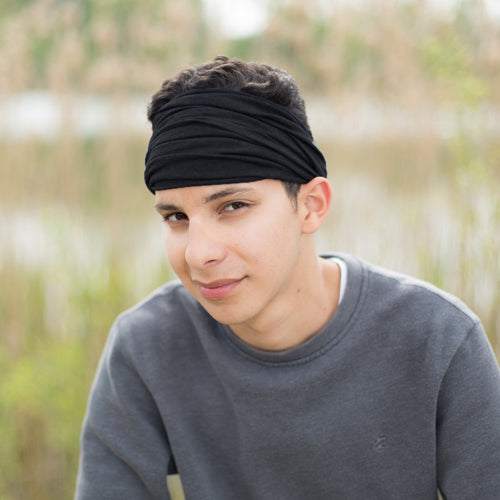 Black Hippie Band Headband