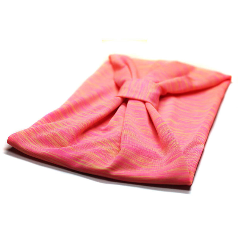 Pink Exercise Turban