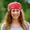 Red Extra Wide Headband