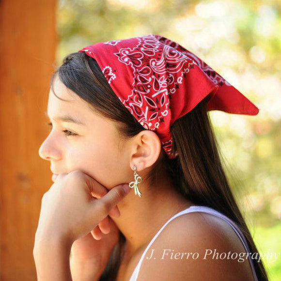 Red Kerchief Headband