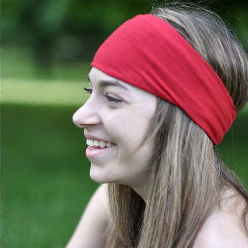 Red Workout Headband