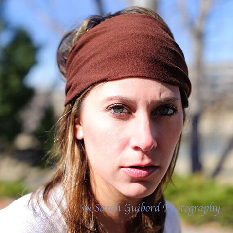 Brown Headband for Women