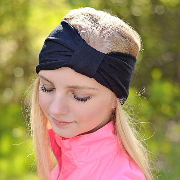 Black Turban Headband
