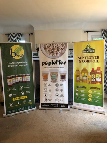 Retractable Banner Stand and Banner