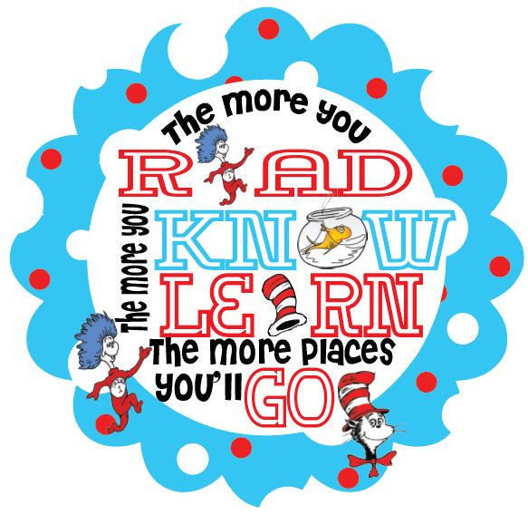 Read Across America Day- Dr. Suess Day Designs