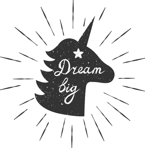 Dream Big Unicorn SVG Cut File