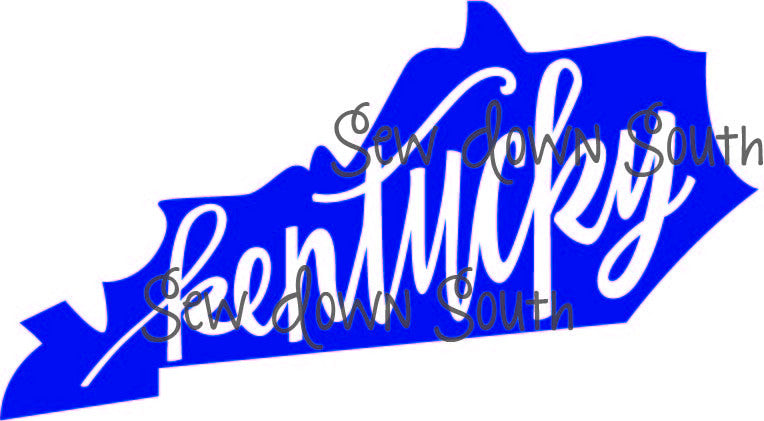 State of Kentucky SVG Cut File