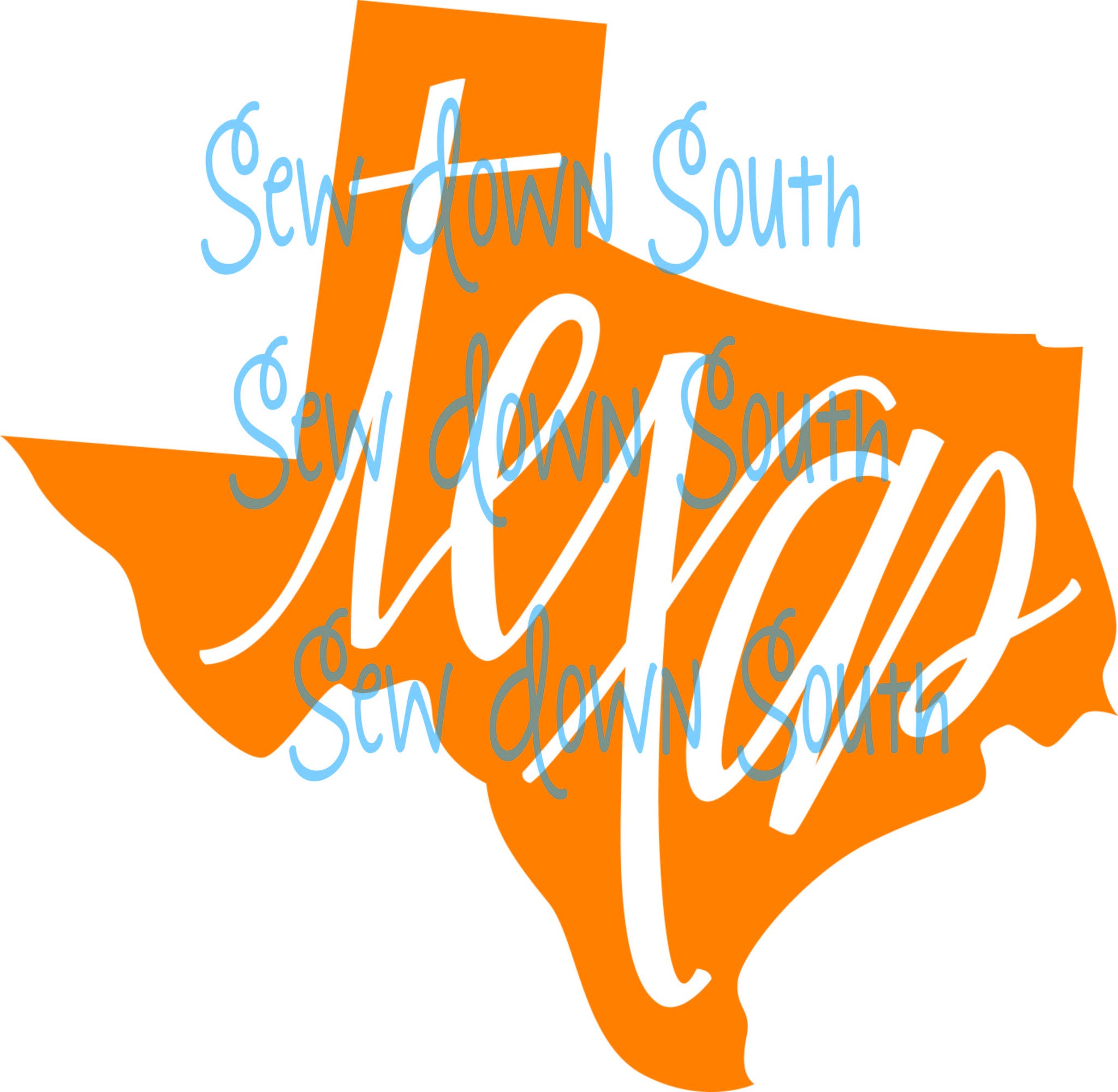 State of Texas  SVG Cut File