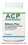 Bilberry Plus / 60mg Standardized  Extract with Bioflavonoids
