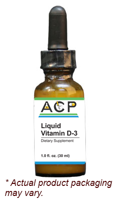 Liquid Vitamin D-3 / 10000 IU