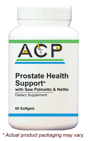 Prostate Health Support / with Saw Palmetto & Nettle