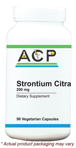 Strontium Citrate / 200mg