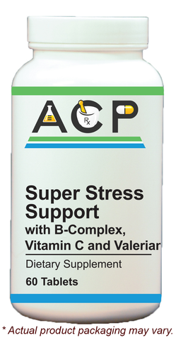 Super Stress Support / with B-Complex, Vitamin C, & Valerian