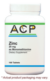 Zinc / 20mg as Monomethionine