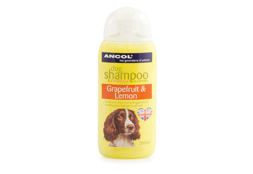 Ancol Grapefruit & Lemon Dog Shampoo