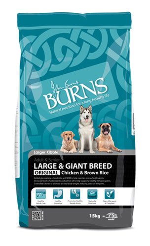 Burns Large Breed - 12kg Chicken & Brown Rice