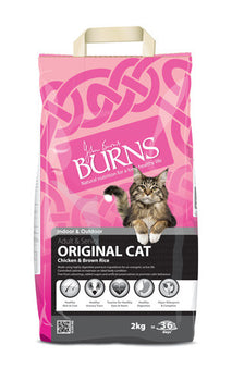 Burns Original Cat - Chicken & Brown Rice 2kg