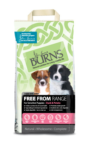 Burns Free From - Puppy Duck & Potato