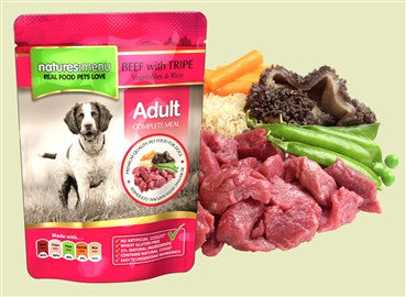 Natures Menu Pouch Beef 8 x 300g