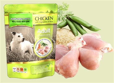 Natures Menu Pouch Chicken 8 x 300g