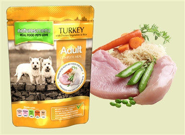 Natures Menu Pouch Turkey 8 x 300g