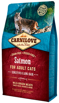 Carnilove Cat – Salmon – Sensitive & Long Hair