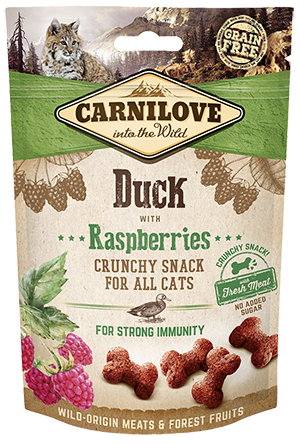 Carnilove  Cat Treats - Duck with Raspberries