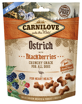 Carnilove Treats - Ostrich with Blackberries