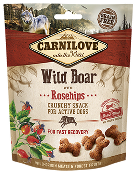 Carnilove Treats - Wild Boar with Rosehips