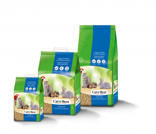 Cats Best Universal Cat Litter 22kg