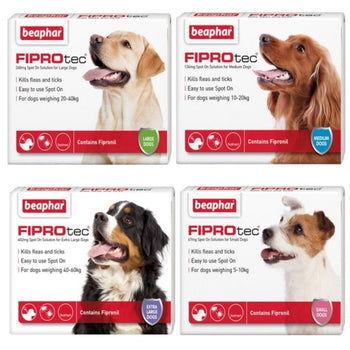 Beaphar FIPROtec® Dog- Flea & Tick Spot on Solution