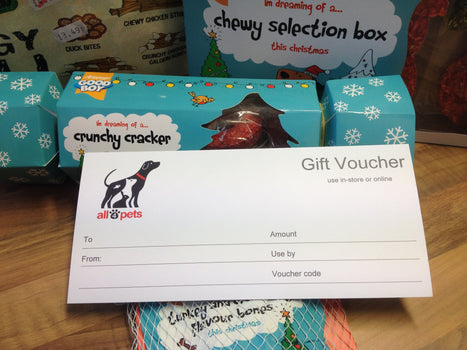 all4pets Gift Vouchers