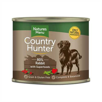 Natures Menu Country Hunter Rabbit 600g Tins
