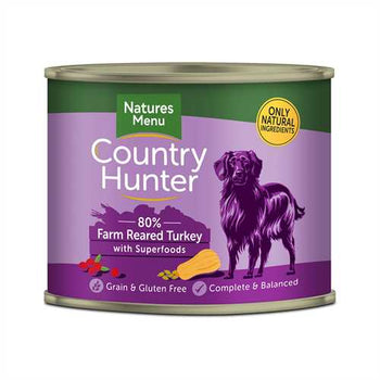 Natures Menu Country Hunter Turkey 600g Tins
