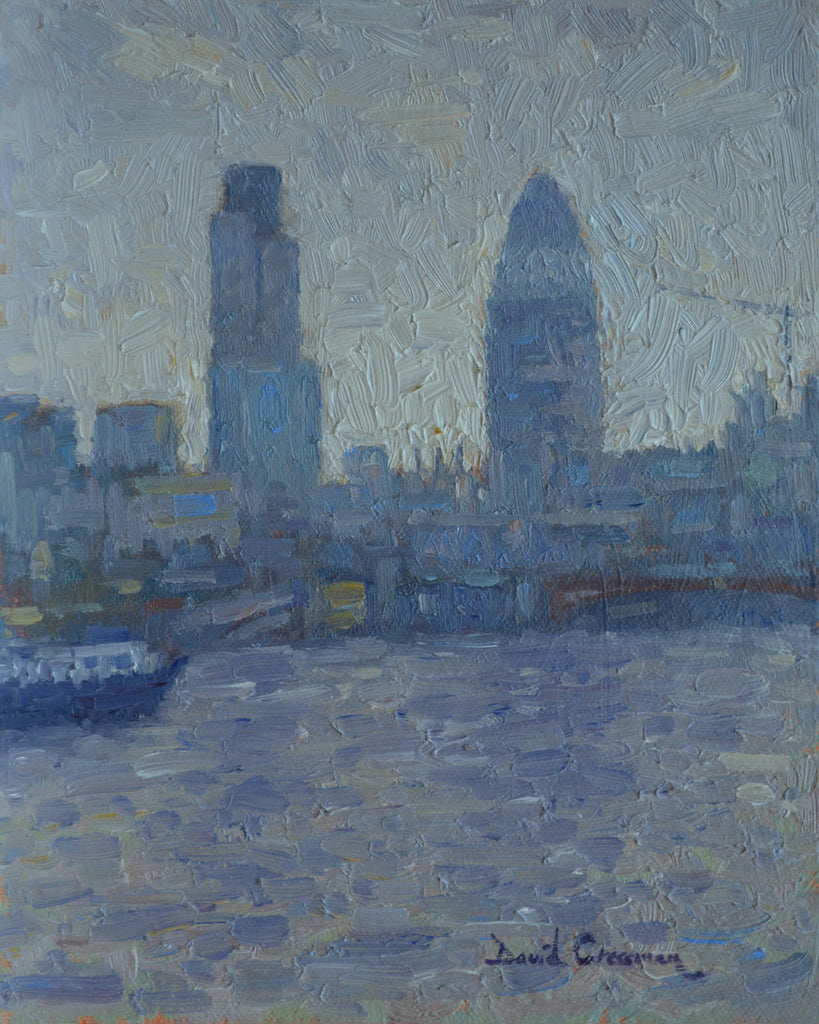 David Cressman Title:Grey Day London City #016