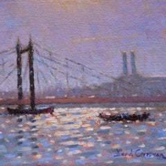 David Cressman Title: Albert Bridge Sun Sparkle #036