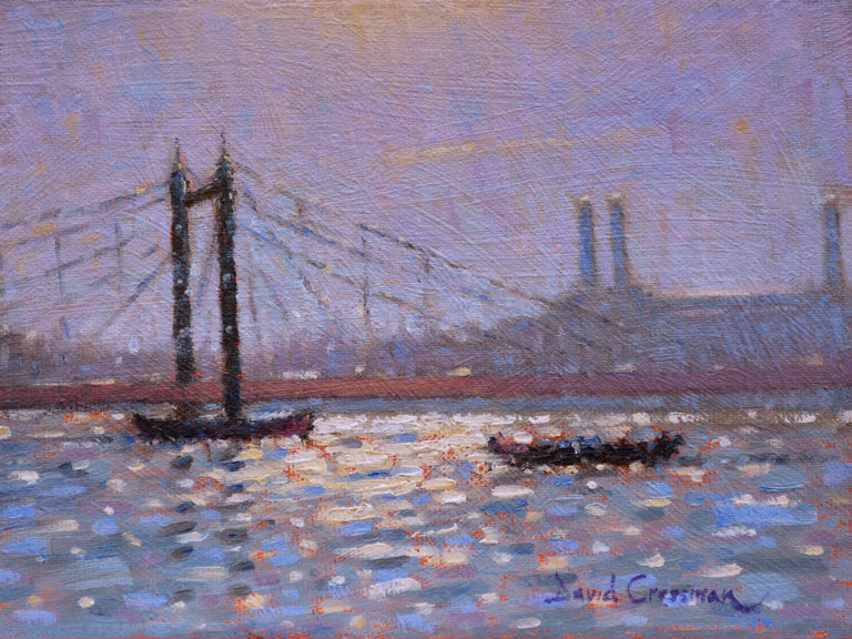 David Cressman Title:Albert Bridge Sun Sparkle #036