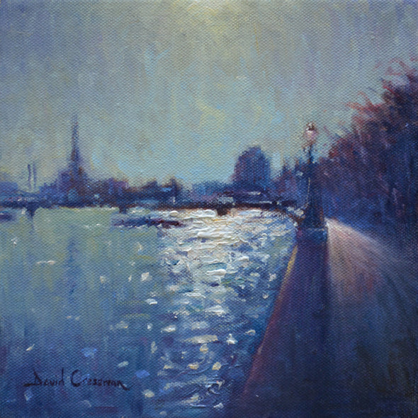 David Cressman Title: Thames Sunlight (towards Chelsea) #041