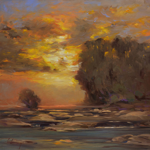 Chuck Larivey OPA Title: Evening Heat