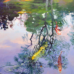Chuck Larivey OPA Title: Maymont, March Reflections
