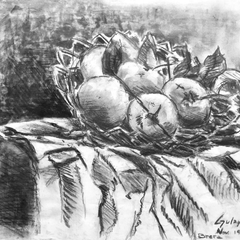 Gulay Berryman Title: Brera - Still Life with Apples