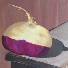 Susannah Raine Title: Turnip On Table