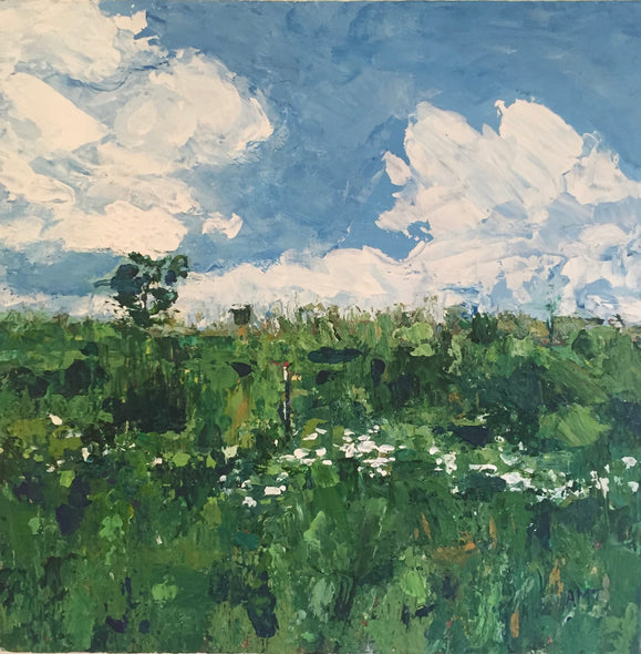 A. Michele Taylor Title: Field in Spring